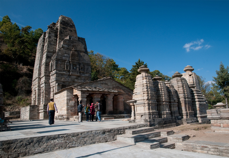 charming temples of Ranikhet