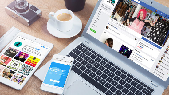 How to create a social media business page