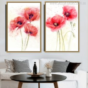 red-poppy-flowers prints