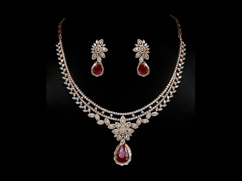 Popular designs of diamond necklace