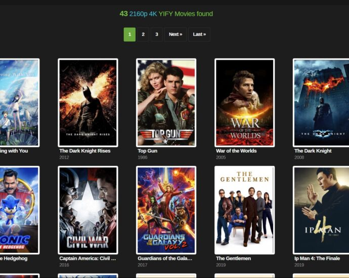 YTS YIFY Movies Torrent